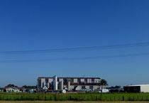 traitement du lait: usine de transformation