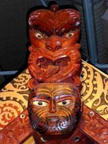 Te Papa  -  culpture maori