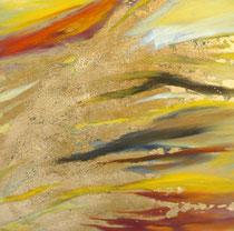 Verwehung, Öl auf Leinwand, 40/40 cm, Vivian Wieling, 190 Euro