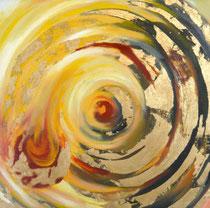 Tag und Nacht,Öl auf Leinwand, 40/40 cm, Vivian Wieling, 190 Euro