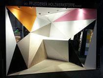 Messe-Architektur für Pfleiderer auf der Architect@Work in Stuttgart 2016