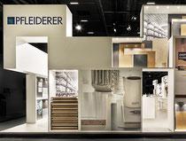 Messe-Architektur für Pfleiderer auf der BAU 2017, Foto: A. Keller