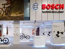 Messe-Architektur für BOSCH eBike Systems auf der EuroBike 2013 in Friedrichshafen. Foto: Werner Huthmacher