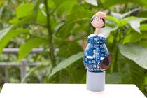 Flaschenverschlußfigur: Elbhangdiva - Ilse Behnert