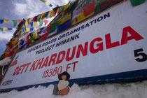 Goethe reist: Indien-Khardung-la-Pass