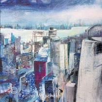 Sydney, Regina Wuschek, 80x80x2