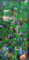 LIBERALITAS BAVARIAE Öl auf Leinwand - 100 x 50 cm
