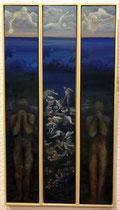 ALLE FRONTIERE ESTERNE EUROPEE Öl auf Leinwand - 100 x 105 cm