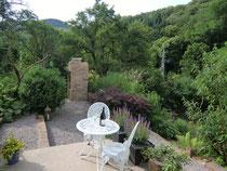 Garten mit Ofen