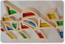 Wunderschöne Holzbauklötze im Pantakea Onlineshop