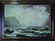 Tranh sơn dầu của Lương Nhật Tiên