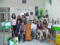 Lớp vẽ tranh Sáng 2.4.6 Ngày 15.7.2011