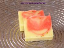 "Handgesiedete Seife: ""Lemongras Grapefruit"""