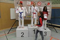 Vizelandesmeisterin 2014 Joline Matuschek und bei der DM 2014 dabei.