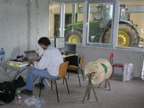 Inbetriebnahme einer Getreidesiloanlage