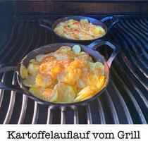 Kartoffelauflauf vom Grill
