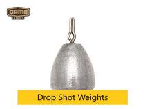 Camo Drop Shot Weights