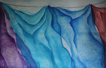 Titel: De was Materiaal: acryl Afmeting: 115cm x 75cm