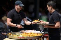 Paella, Paella kochen, Paella zubereiten