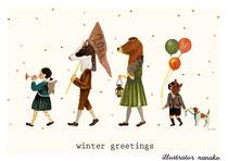 winter greetings(2021)