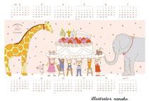 Petite Graine ノベルティカレンダー(2021)