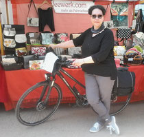feewerk, Lenkertasche, Fahrradtasche, Hollandrad, Fahrrad, Frauen