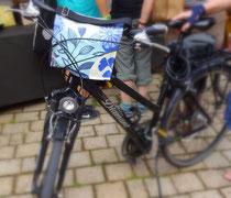 feewerk, Lenkertasche, Fahrradtasche, Hollandrad, Fahrrad, blau, kunde