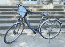feewerk, Lenkertasche, Fahrradtasche, Hollandrad, Fahrrad, Lenker