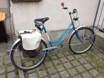 feewerk, Lenkertasche, Fahrradtasche, Hollandrad, Fahrrad, Gepäcktasche, Gepäckträgertasche, doppelt