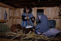 Die Krippe in der Weihnachtszeit 2008