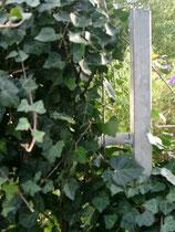 Verzinkter Eisenpfosten - Mobilane Fertighecke® - Pflanzfertige Heckenelemente - Fertiger Sichtschutz - Garten Bronder©