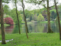 Stourhead Garden, der Landschaftspark wurde 1741-1780 angelegt