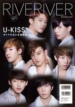 創刊号 RIVERIVER Vol.01[Amazon限定版]裏表紙:U-KISS