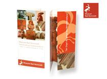Informationionsflyer für ein Ziegelmuseum