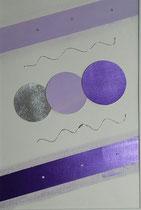 Nr. 3/ Lichtkreise violette  / CHF 190