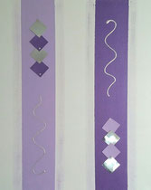Nr. 2 / violette Lichtsäulen CHF 150