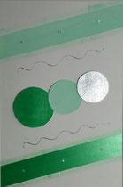 Nr. 5/ Lichtkreise grün  / CHF 190
