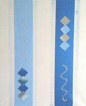Nr.1 / blaue Lichtsäulen CHF 150