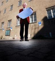 Opfer  - Stasigefängnis Rostock gab es hier ein Bunker? Foto:Preller