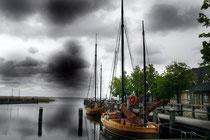 Hafen von Wustrow Fischland / Darss Foto:Preller