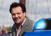 Schauspieler Charly Hübner   Polizeiruf 110 aus Rostock Foto:Preller
