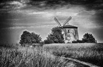 Windmühle / Tettau - Sachsen