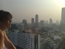 25. Etage Sendepause in Bangkok ;-)