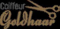 Coiffeur Goldhaar: Logo, Visitenkarte, Terminkarte, Gutschein