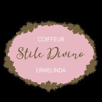 Coiffeur Stile Divini Ermelinda: Logo, Visitenkarte, Terminkarte, Gutschein, Website