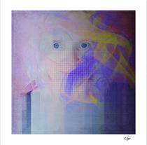 """The smoke and me"" Artistic self portrait"