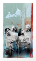 """""""Four shades"""" Cuatro sombras. Digital art. Arte Digital. Photography, digital manipulation."""