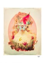 """""""Lady Silence"""" Digital Art, Digital Collage"""