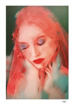 """The Dreamer"". Digital Art. Digital Painted Photography, Digital Manipulation. Contemporary Art."