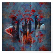 """Abstract three women"". Tres mujeres, arte abstracto. Digital art. Arte Digital. Photography, digital manipulation."